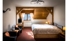 Komfortní ubytování v horském stylu