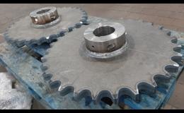 Tvarování strojírenských součástí laserovým kalením Kovomont Přerov