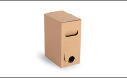 Bag-in-box, 3 litry, krabice s boční výpustí