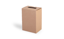 Bag-in-box, 2 litry, krabice s boční výpustí
