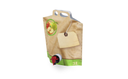 Vak typu Bag-in-box na mošt od firmy Model Pack Shop Brno