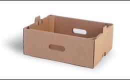 Kartonová přepravka pro ovoce a zeleninu