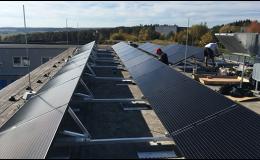 Fotovoltaické systémy pro výrobní závody