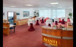 Konferenční prostory s prezenční a audiovizuální technikou