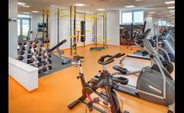 Fitness čtyřhvězdičkového hotelu Avanti Brno