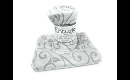 Hřejivé deky z mikrovlákna s ornamenty