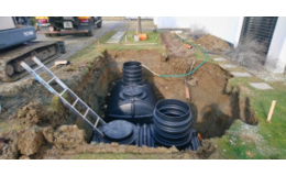 Výstavba vsakovacích systémů, trativodů