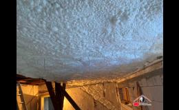 Zdravotně nezávadná polyuretanová pěna k zateplení stropů a stěn