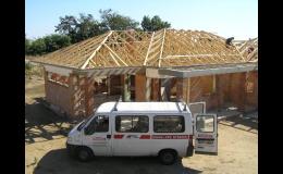 Výstavba nové střechy na klíč - EURODACH s.r.o.