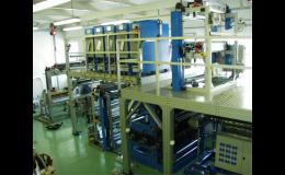 Laboratorní zařízení pro plastikářský průmysl