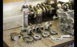 Opravy motorů, čištění karburátorů motocyklů všech značek