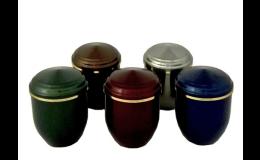 Výroba a prodej miniuren, urny ocelové, hliníkové, dřevěné