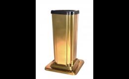 Zlatá hřbitovní váza - zakázková ruční výroba