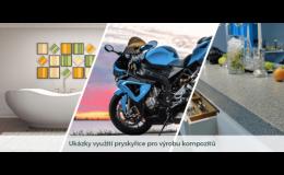Výroba pryskyřic pro kompozitní díly na lodě, motocykly