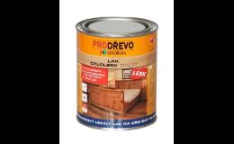 Prodej laků na ochranu dřeva v interiéru i exteriéru