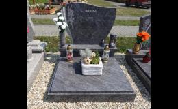 Zakázková výroba hrobů, hrobek, pomníků, náhrobků