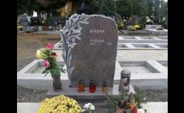 Opravy a renovace starých náhrobků a pomníků