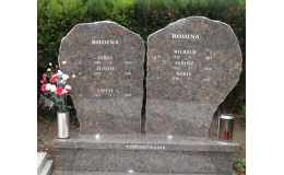 Zakázkové kamenické práce - výroba náhrobků, pomníků