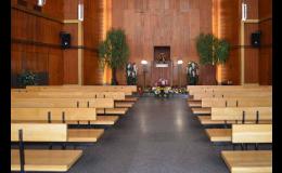 Zpopelnění v Krematoriu Slezská Ostrava, pohřební obřady