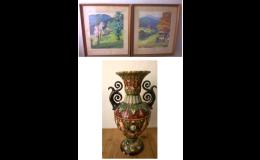Výkup starožitných předmětů - vázy, obrazy, sošky
