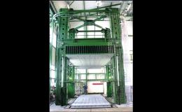 Vybavení zkušebny důlních výztuží TLO, a.s. Opava