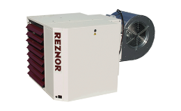 Plynový teplovzdušný systém Reznor typu UDSBD