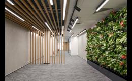 Dřevěné příčky k elegantnímu dělení prostoru