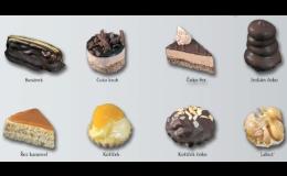 Lahodné cukrářské speciality z prodejny Zelená zahrada