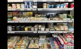 Prodej mléčných výrobků od regionálních producentů
