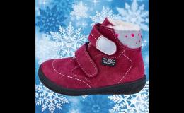 Zimní dětská obuv Barefoot od JONAP - výroba obuvi s.r.o.