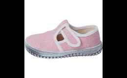 Domácí dětská obuv Barefoot - odlehčená, modelujicí přirozenou chůzi