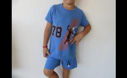 Chlapecká trička a šortky v internetovém obchodě