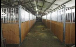 Vnitřní koňské boxy Standard - Equicov s.r.o., Třebíčsko