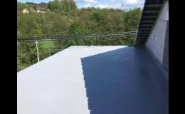 Hydroizolační systém Polyurea - izolace střech, základů, jímek