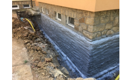 Hydroizolace základů staveb, zateplování budov