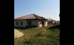 Sendvičové stavby se zateplenou fasádou - Jihomoravský kraj