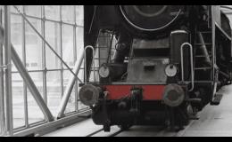 Odstranění starých nátěrů z lokomotiv, železničních vozů tryskáním