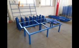 Zámečnická výroba na zakázku - ploty, mříže, konstrukce