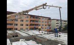 Čerpání anhydritu -  Beton Znojmo Mansberk s.r.o.