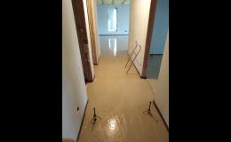 Výhody anhydritových litých podlah