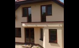 Štukové omítky rodinných a bytových domů Jihomoravský kraj