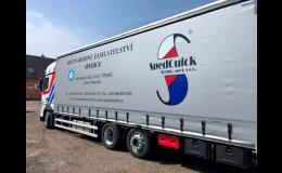 Mezinárodní přeprava zásilek a spedice SPEDQUICK Třebíč