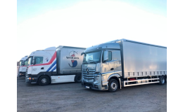 Mezinárodní kamionová přeprava zboží