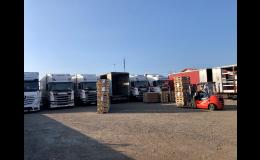 Skladování a logistika  SPEDQUICK Třebíč