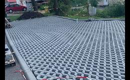 Výstavba parkovišť, parkovacích stání DS DUMA s.r.o. Znojmo