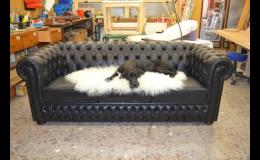 Zakázková výroba koženého čalouněného nábytku