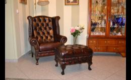 Čalouněný nábytek na míru do soukromých interiérů