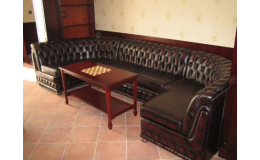 Kožený čalouněný nábytek do reprezentativních prostor