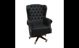 Pracovní židle z kvalitních kůží i potahových látek - Tradicional