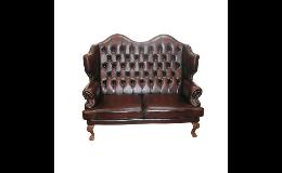 Výroba čalouněného anglického nábytku typu Chesterfield